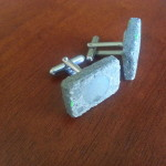 #MakerMonday | DIY Concrete Cufflinks