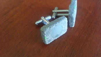 Permalink to: Concrete Cufflinks