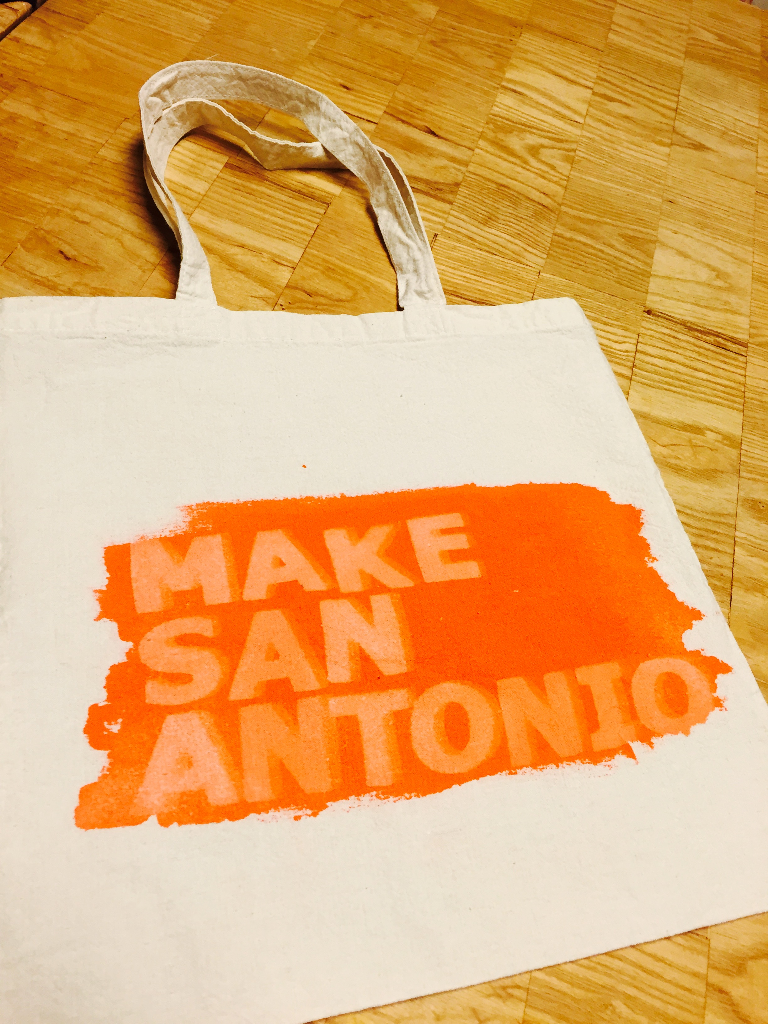 Make San Antonio Tote
