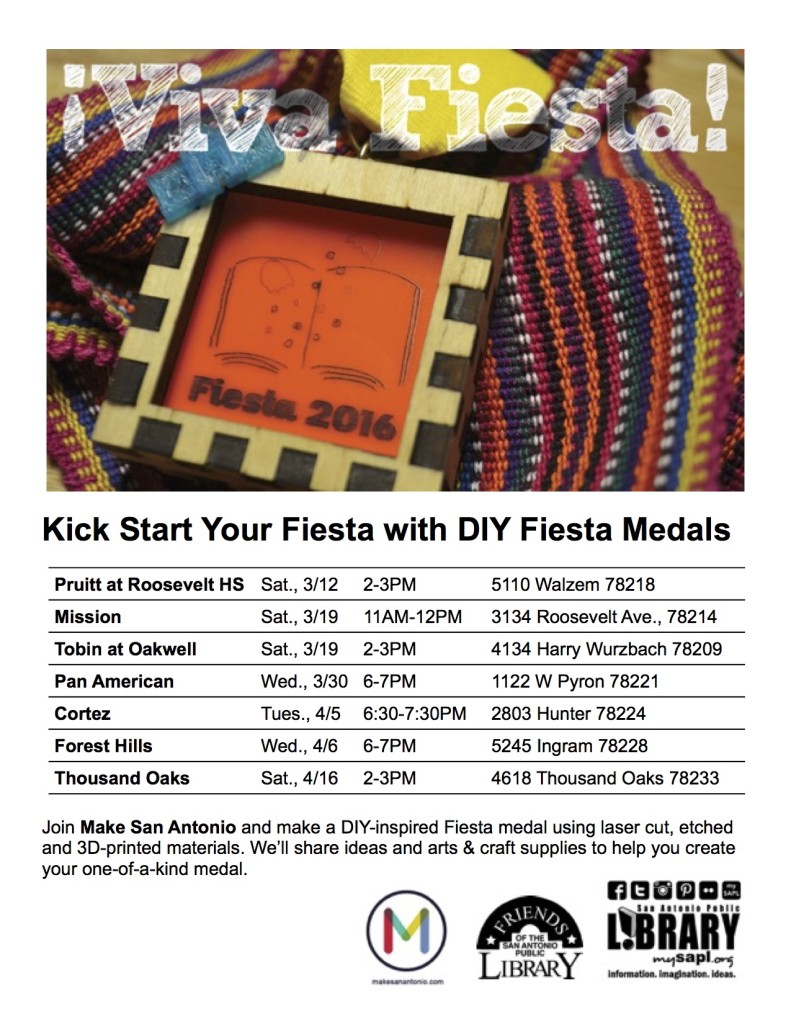 Diy Fiesta Medals 2016 Edition Make San Antonio