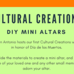 Cultural Creations kicks off with Día de los Muertos mini altar workshop